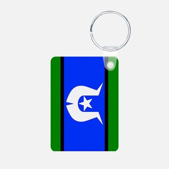 Torres Strait Islander Flag Keychains