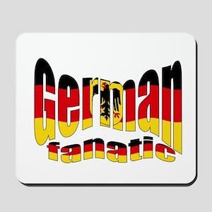 German flag fanatic Mousepad