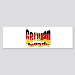 German flag fanatic Bumper Sticker