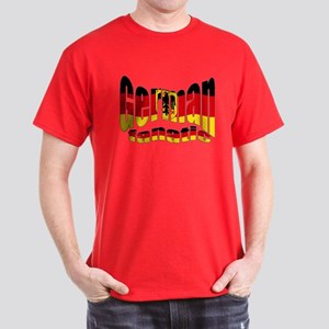 German flag fanatic Dark T-Shirt