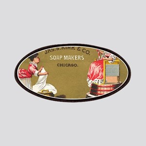 Jas S Kirk Soap Makers ad Circa 1880 Patch