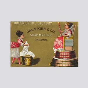 Jas S Kirk Soap Makers ad Circa 1880 Magnets