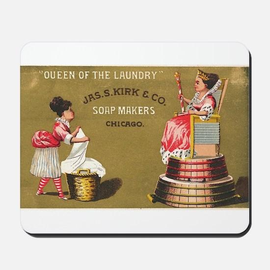 Jas S Kirk Soap Makers ad Circa 1880 Mousepad