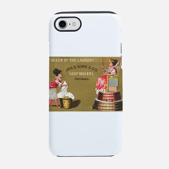 Jas S Kirk Soap Makers ad Circa 1880 iPhone 7 Toug