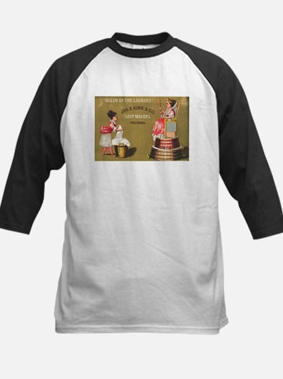 Jas S Kirk Soap Makers ad Circa 1880 Baseball Jers
