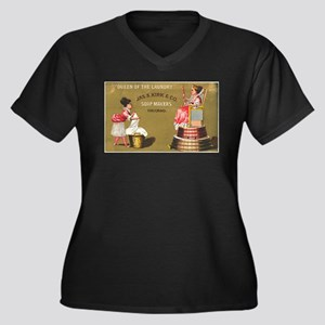 Jas S Kirk Soap Makers ad Circa 1880 Plus Size T-S
