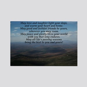 Old Irish Blessing Rectangle Magnet
