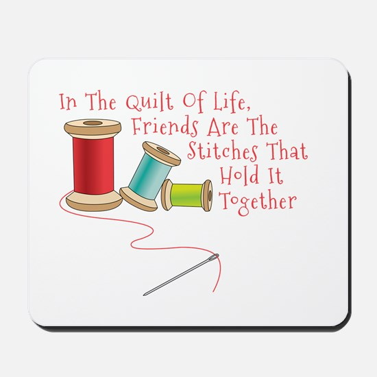 Quilt of Life Mousepad