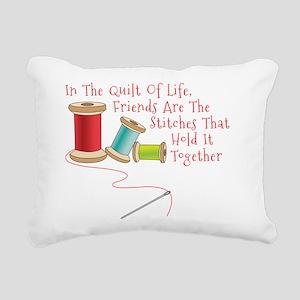 Quilt of Life Rectangular Canvas Pillow