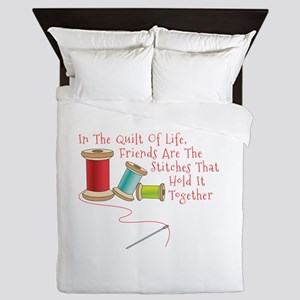 Quilt of Life Queen Duvet
