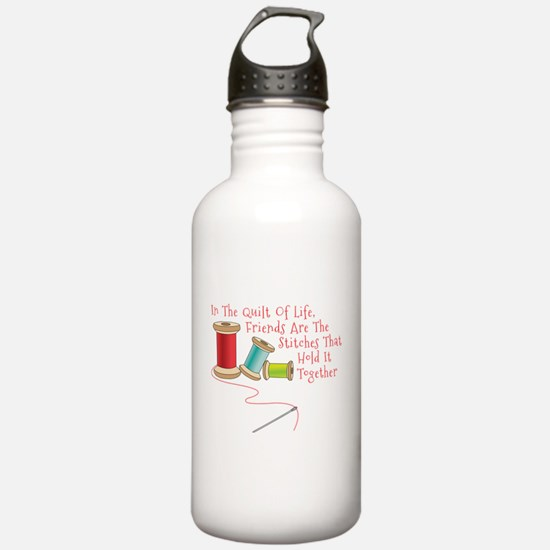 Quilt of Life Water Bottle