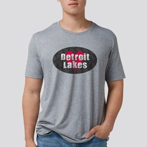 Detroit Lakes w Heart T-Shirt