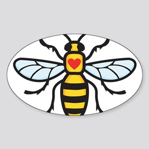 The Manchester Bee Sticker