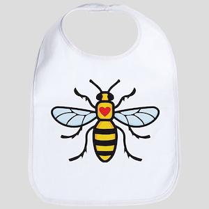 The Manchester Bee Baby Bib