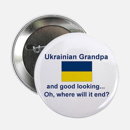 "Good Lkg Ukrainian Grandpa 2.25"" Button"