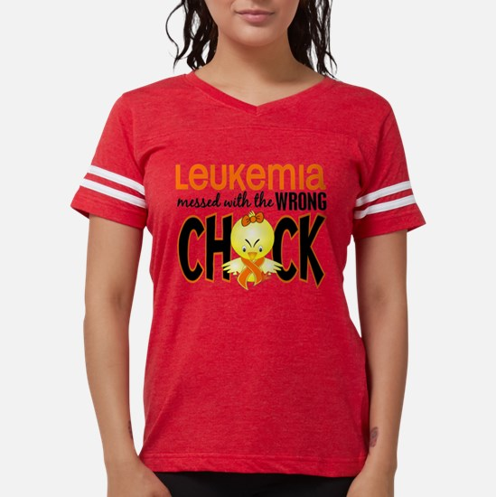 Leukemia Messed With Wrong Chick T-Shirt