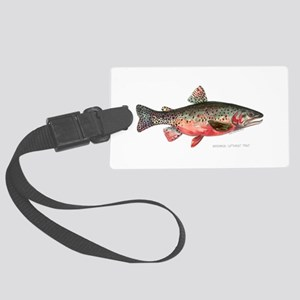 Greenback Cutthroat Trout Large Luggage Tag