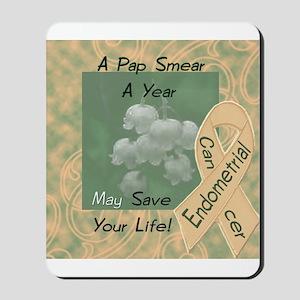 Endometrial Cancer Awareness Mousepad