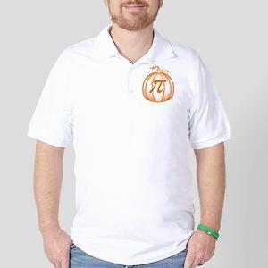 pumpkin-pi-T Golf Shirt