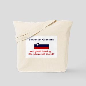 Slovenian Grandma-Good Lkg Tote Bag