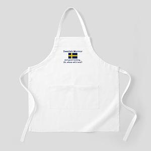Good Lkg Swedish Mormor BBQ Apron