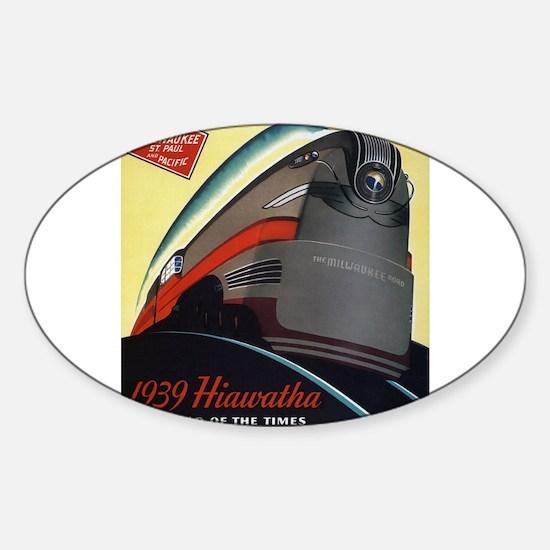 Hiawatha_Milwaukee_Road_Advertisement_1939 Decal