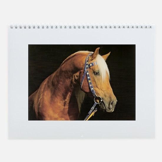 International Horse Breeds Photo Wall Calendar