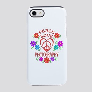 Peace Love Photography iPhone 7 Tough Case