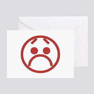 Frown Greeting Cards (Pk of 10)