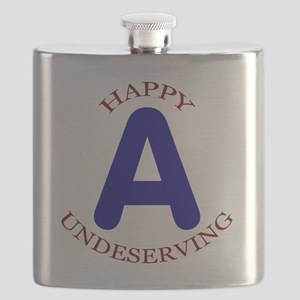 Happy, Undeserving A Flask