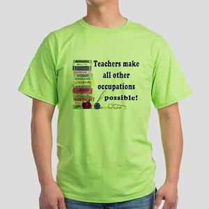 """""""Teacher Occupations"""" Ash Grey T-Shirt"""