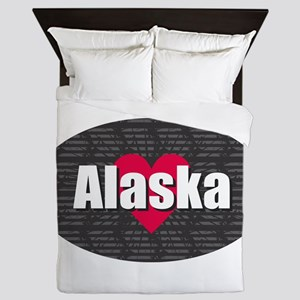 Alaska w Heart Queen Duvet