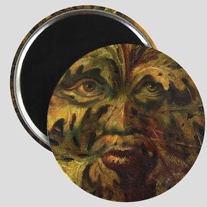 October Green Man Magnet