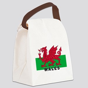 3-wales-flag-labaled2-4000w Canvas Lunch Bag