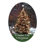Tc Christmas Tree Oval Ornament