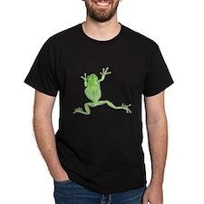 Tree Frog Photo Dark T-Shirt