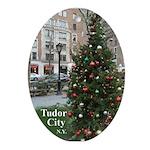 Tc Christmas Tree 2 Oval Ornament