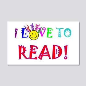 Love to Read 20x12 Wall Decal