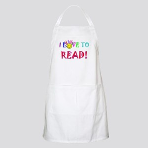 Love to Read Light Apron