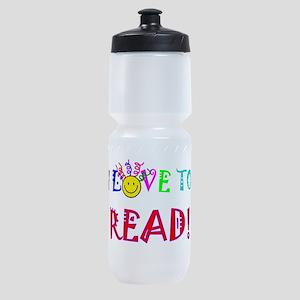Love to Read Sports Bottle