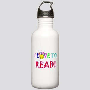 Love to Read Stainless Water Bottle 1.0L