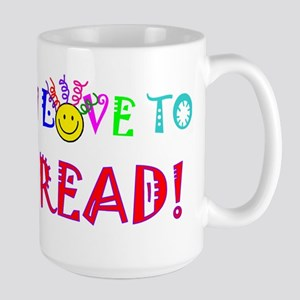 Love to Read 15 oz Ceramic Large Mug