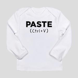 PASTE (Ctrl+V) Long Sleeve T-Shirt
