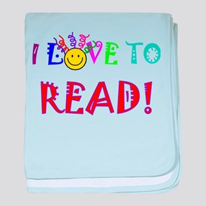 Love to Read baby blanket