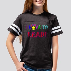 Love to Read Youth Football Shirt