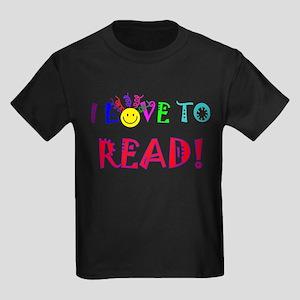 Love to Read Kids Dark T-Shirt