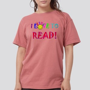 Love to Read Womens Comfort Colors Shirt