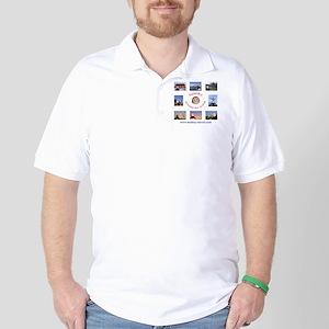 cocktail plate Golf Shirt