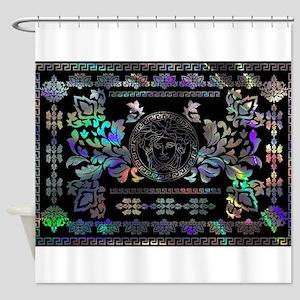 hologram Medusa Shower Curtain