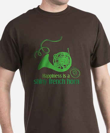 Shiny French Horn T-Shirt